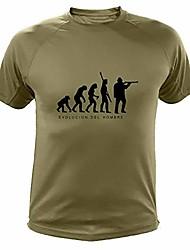 cheap -men's hunting, evolucion of man – gifts for hunters, green, xxxl