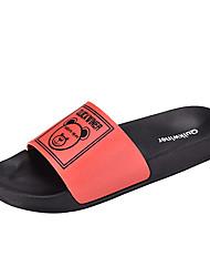 cheap -Men's Slippers & Flip-Flops Daily EVA(ethylene-vinyl acetate copolymer) Black / White Black / Red Black Spring Summer