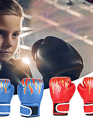 cheap -Boxing Bag Gloves Boxing Training Gloves Boxing Gloves For Boxing Mixed Martial Arts (MMA) Full Finger Gloves Protective Leather Kid's Men's - Black Red Blue