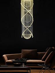 cheap -250 cm 9-Light Crystal Chandelier Downlight Electroplated Metal Crystal, Bulb Included, Designers 110-120V / 220-240V Warm White / GU10