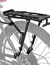 cheap -hiland bike rear cargo rack aluminum luggage pannier carrier adjustable for 20-29 inch mountain road hybrid commuter city disc-brake electric bikes