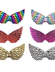 cheap -Princess Cosplay Costume Wings Holiday Jewelry Girls' Movie Cosplay Butterfly Cute Golden / White / Purple Wings Christmas Halloween Carnival
