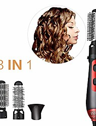 cheap -3-in-1 hot air comb, multi-function hair dryer electric curler hair straightener with temperature and speed adjustment,usplug