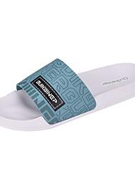 cheap -Men's Slippers & Flip-Flops Daily EVA(ethylene-vinyl acetate copolymer) White Black Blue Spring Summer
