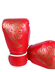 cheap -Sports Gloves Pro Boxing Gloves Boxing Training Gloves For Fitness Boxing Muay Thai Full Finger Gloves Adjustable Lightweight Sunscreen PU(Polyurethane) Black Red Blue