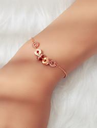 cheap -Women's Bracelet Beads Fashion Fashion Rhinestone Bracelet Jewelry Rose Gold For Festival