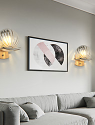 cheap -Mini Style Creative Nordic Style Flush Mount wall Lights Living Room Dining Room Iron Wall Light IP20 110-120V 220-240V