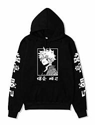 cheap -japanese anime my hero academia hoodie bakugou katsuki pullover kapuzenpullover streetwear casual sweatshirts