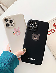 cheap -Phone Case For Apple Back Cover iPhone 12 Pro Max 11 SE 2020 X XR XS Max 8 7 Pattern Animal TPU
