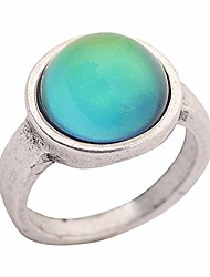 cheap -basic classic design antique sterling silver plated ring round stone color change mood rings mj-rs036 (9)
