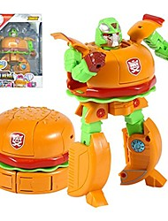 cheap -robot transformers food toys for children over 6 years old (hamburger type)