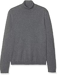 cheap -amazon brand - men's pure cotton roll neck, beige (beige), 3xl, label:3xl