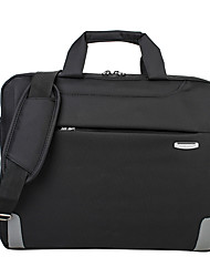 cheap -Unisex Oxford Cloth Laptop Bag Zipper Solid Color Daily Office & Career Black Purple Gray Coffee