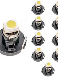 cheap -Signal Lamp T3 T4.2 T4.7 Led Bulbs 12V 1 SMD 2835 5050 Chips Car Dashboard instrument Light Auto Interior Side Light 10pcs