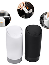 cheap -SPEEDWOW 1PCS Auto Car Garbage Can Car Trash Can Silicone Garbage Dust Case Holder Rubbish Bin Black White