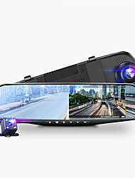 cheap -4.3in Car Dvrs Video recorder Dash Cam Full HD 1080P Mirror Cam Car Dvr Camera loop recording motion tracking
