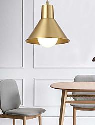 cheap -1-Light 17 cm Pendant Light Copper Bowl Modern Nordic Style 110-120V 220-240V