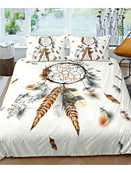 cheap -Dreamcatcher Print 3-Piece Duvet Cover Set Hotel Bedding Sets Comforter Cover with Soft Lightweight Microfiber For Room Decoration(Include 1 Duvet Cover and 1or 2 Pillowcases)