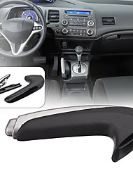 cheap -Handle Cover Emergency Car Interior Parking Hand Brake Handle Lever Grip Cover For Honda for Civic 2006-2011