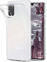 cheap -Case Compatible With Samsung Galaxy A41 (4G) Transparent TPU Silicone Cell Phone Cover Clear Shockproof Slim Soft Thin Protective Cover Case For Samsung A41 (4G)