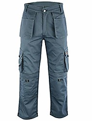 cheap -men work cargo trouser grey & khaki pro-11 heavy duty multi pockets (grey, 42w x 29l)