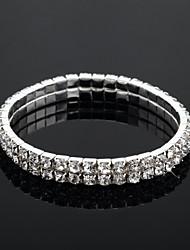 cheap -Women's Bracelet Classic Blessed Fashion Rhinestone Bracelet Jewelry Silver For Wedding Daily