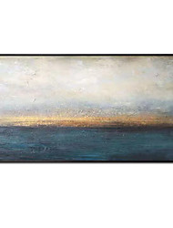 cheap -Oil Painting Handmade Hand Painted Wall Art Abstract Landscape Sunrise Sunset Home Decoration Décor Rolled Canvas No Frame Unstretched
