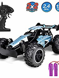 cheap -rc cars for kids remote control car high speed racing car fast rc truck rechargeable radio controlled toys for boys girls kids age 5 16 year old birthday xmas gifts blue
