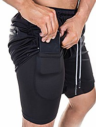 cheap -mens 2-in-1 running shorts quick dry breathable active jogging cycling shorts with liner(camopink,xl)
