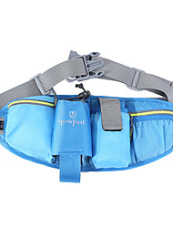 cheap -Unisex Bags Oxford Cloth Polyester Fanny Pack Sling Shoulder Bag Solid Color Daily Outdoor 2021 MessengerBag Blue Yellow Fuchsia Orange