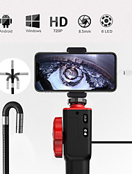 cheap -smart control turn the 8.5 mm endoscope F408D-USB computer phone directly connected to the turn camera 1 meter