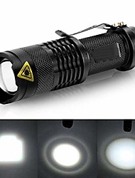cheap -usb rechargeable bike light, aluminum alloy super bright wide angle led flashlight, 14500mah battery torch lamp with rotation light holder - black
