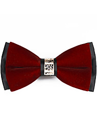 cheap -Unisex Work / Basic Bow Tie - Solid Colored Bow