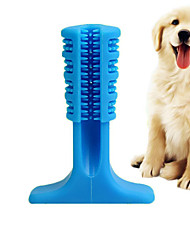 cheap -Chew Toy Stick Toothbrushes Cleaning Brush Dog Play Toy Rodents Dog Cat Pets Puppy 1pc Pet Friendly Portable Durable Aggressive Chewers Natural Rubber Gift Pet Toy Pet Play