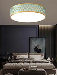 cheap -50 cm Geometric Shapes Flush Mount Lights Metal Fabric Modern 110-120V / 220-240V