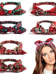 cheap -Headbands Hair Accessories Cotton / Linen Blend Wigs Accessories Women's / All 1 pcs pcs cm Performance / Birthday / Festival Christmas / New Year's Fashionable Design