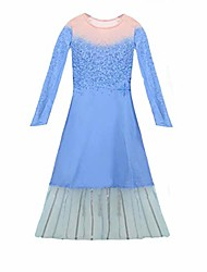 cheap -halloween holiday new el2 dress for grils amazing cosplay costume -xx-large blue