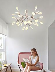 cheap -58 cm LED Chandelier Metal Sputnik Painted Finishes Modern Contemporary 110-120V 220-240V