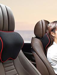 cheap -Car Neck Headrest Pillow Car Accessories Cushion Auto Seat Head Support Neck Protector Automobiles Seat Neck Rest Memory Cotton