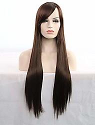 cheap -raonshua fashion natural amazing long straight 80cm wig gets you eyecatching 100% human hair