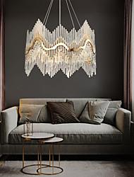 cheap -8-Light 60 cm Chandelier Crystal Crystal Electroplated LED Chic & Modern 110-120V 220-240V