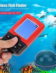 cheap -Upgraded Fishfinder Wireless Fish Finder Fish Alarm Portable Sonar Sensor Fishing Lure Echo Sounder Find Fish