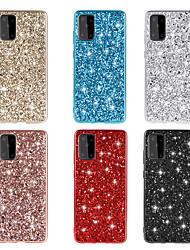 cheap -Case For Samsung Galaxy Galaxy S20 FE 5G / Galaxy Note 20 Ultra / Galaxy A51 Glitter Shine Back Cover Glitter Shine TPU