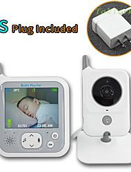 cheap -TakTark 3.2 inch Wireless Video Color Baby Monitor Night Light portable Baby Nanny Security Camera IR LED Night Vision intercom