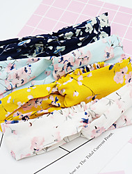 cheap -Headbands Hair Accessories Hand-embroidered fabric Wigs Accessories Women's 4 pcs pcs cm Casual / Daily / Festival Stylish / Sweet Fashionable Design
