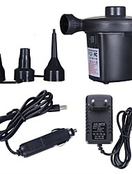 cheap -220V 12V Electric Inflatable Pump Quick Air Filling Compressor With 3 Nozzles For Car Camping Life Buoy Boat Cushion Home Use