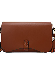 cheap -Women's Bags Crossbody Bag Date Office & Career 2021 MessengerBag Dark Brown Black Khaki Brown