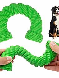 cheap -dog chew toys for aggressive chewers - indestructible dog dental toy for medium large breeds, tough rubber pet toy for puppy small doggy training, non-toxic & durable