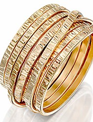 cheap -handmade14k gold filled 'wrapped up' ring overlapping intertwined entwined crisscross crossover knotted statement wire wrap band