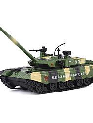 cheap -1:32 Tank Toy Truck Construction Vehicle Toy Car Simulation Tank Unisex Boys' Girls' Kid's Car Toys
